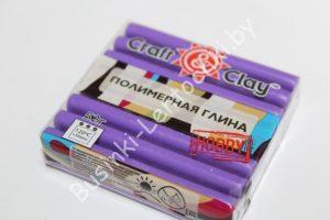 """Полимерная глина """"Craft"""" """"фиолетовый пастель"""" (52гр.)"""