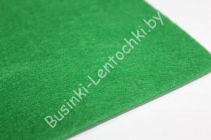 Фетр (1мм) ярко-зелёный (20×30см) жёсткий