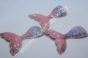 Патч (70×60мм) «хвост русалки»