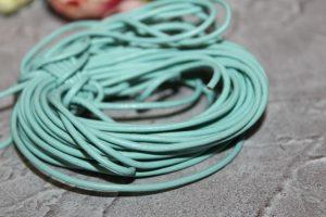 Шнуры (1,2мм) вощёные натуральные