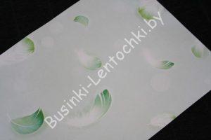 """Бумага (20×30см) односторонняя """"Пёрышко зелёное"""""""
