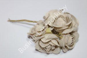 Роза (3см) натуральная