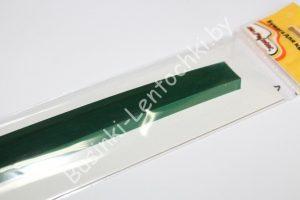 Набор бумаги (7мм) тёмно-зелёная