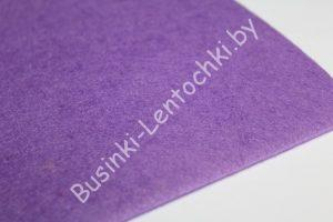 Фетр (3мм) тёмно-фиолетовый (20×30см)
