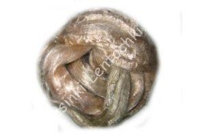 Волокно (25 грамм) для валяния вискоза тёмно-бежевый