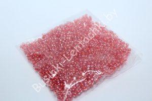 Бисер (20 гр.) 12/0 прозрачный с коралловым отверстием