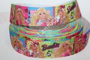"Лента (2,5см) репсовая ""Barbie"""