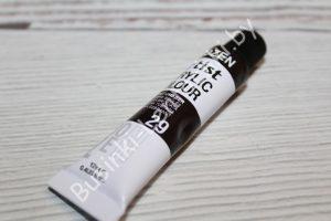 Краска (№29) акриловая тёмно-коричневая DOZEN