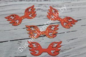 Крылья (5×2см) ажурные