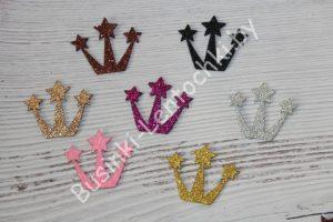 Корона со звёздами (4,5×3,8см) из фоамирана