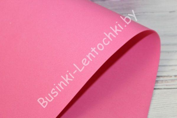 Фоамиран (Китай) ярко-розовый