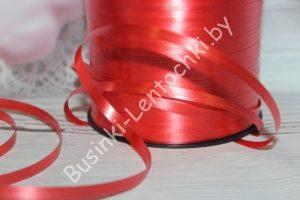 Лента (5мм) полипропиленовая красная