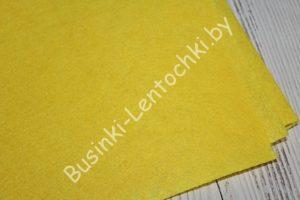 Фетр (1мм) жёлтый (85×50см)