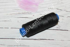 Нитки 40/2 №631 (183м) чёрная