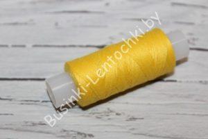 Нитки 40ЛШ (150м) жёлтые