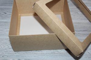 Крафт-коробка (20×20×10см)