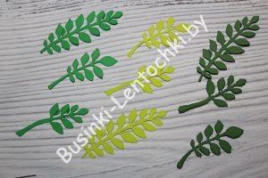Набор листиков из фоамирана №7
