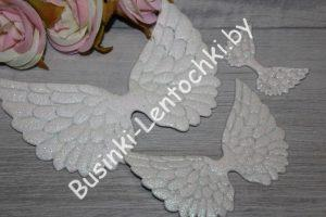 Патч «крылья» белые