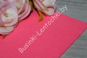 Фетр (1мм) корейский ярко-розовый мягкий
