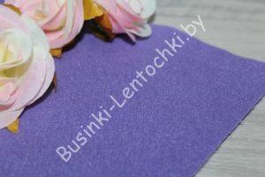 Фетр (1мм) корейский фиолетовый мягкий