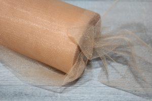 Фатин (15см) светло-коричневый