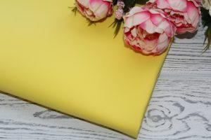 Фоамиран (112) жёлтый (0,8-1мм)