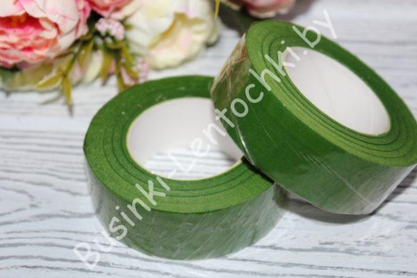 Тейп-лента (24мм) зеленая