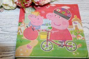 """Набор салфеток (33×33см) бумажных """"Свинка Пеппа"""" (Peppa Pig)"""