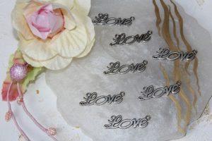 "Коннектор (34×10мм) ""Love"""
