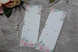 Подложка (4×10см) для резинок (заколок)  №13