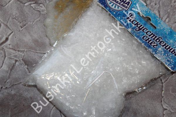 Снег (50г) искусственный прозрачный